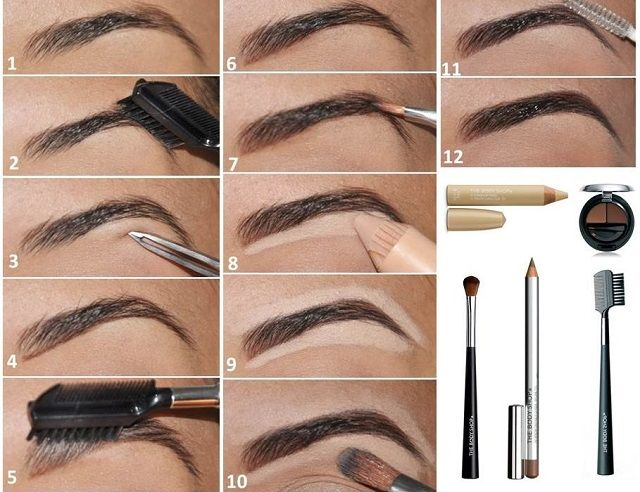 How to Fill and Shape Your Eyebrows Perfectly: