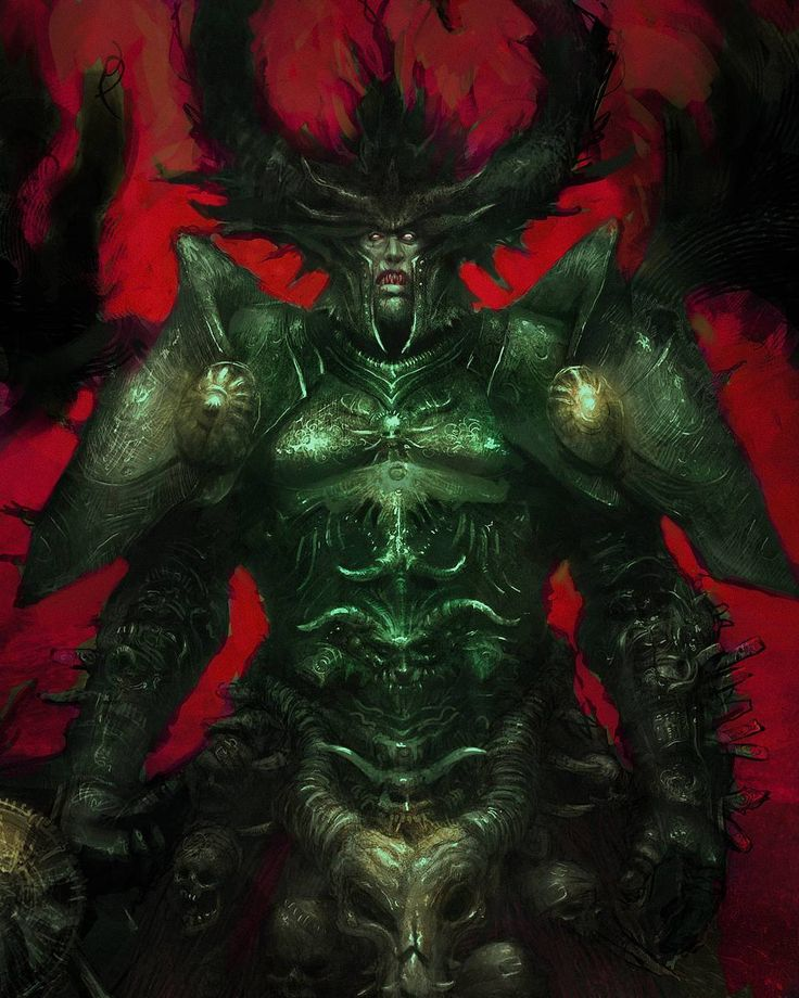 Throwback Thursday! Real prehistory here folks. One of my earliest digital works done about 8 years ago. Got sentiment for this one since thanks this piece Ive got my first job in bideo games industry.  #tbt #Throwback #throwbackthursday #fantasy #demon #evil #king #monster #digitalart