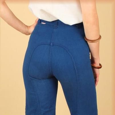 I just remember being called saddle stitched jeans....Ditto Jeans ♥