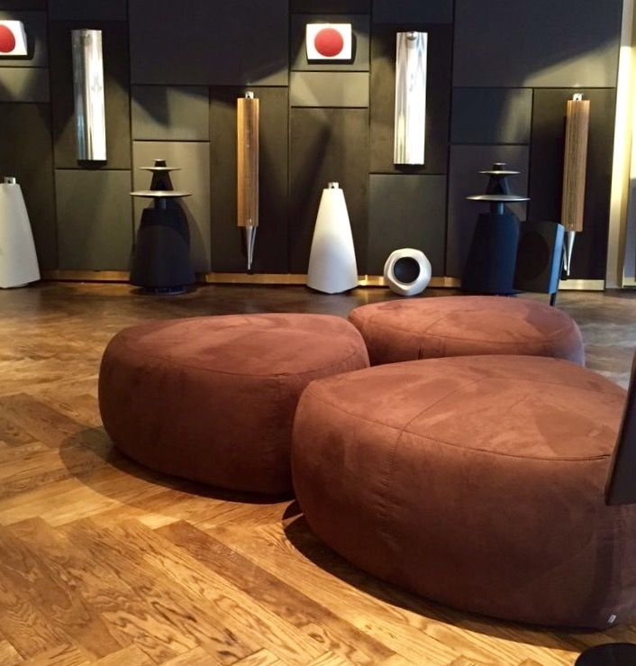 Bermuda Footstools Now In Bang Olufsens Wilmslow Showroom Provided By BoConcept Manchester