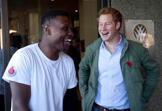 Prince Harry surprises disabled veteran 'hero' Ben McBean - News - TODAY.com