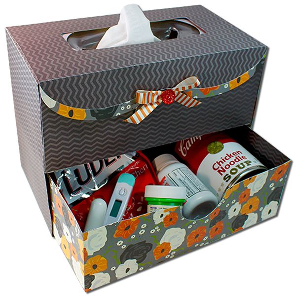 """<p> <span style=""""color: rgb(105, 105, 105); font-size: 14px;"""">This 3D box Get Well Gift Care Box project is designed for electronic cutting machines. File is as shown.</span></p>"""