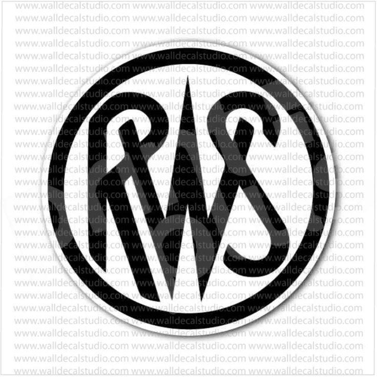 RWS Air Rifles Emblem Sticker