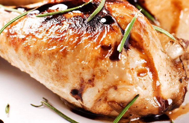 Sweet and tangy, this chicken takes less than five minutes to prep!