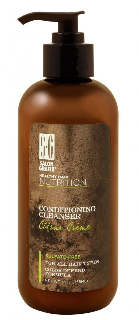 Salon Grafix Citrus Conditioning Cleanser - a fabulous cheaper and easier to get alternative to Wen shampoo.  Good stuff!