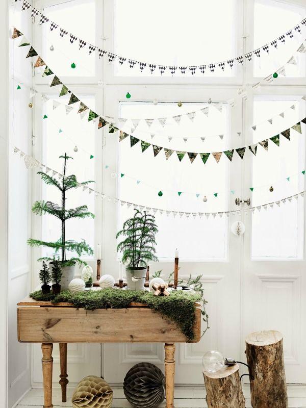 kerst natuurlijk groen