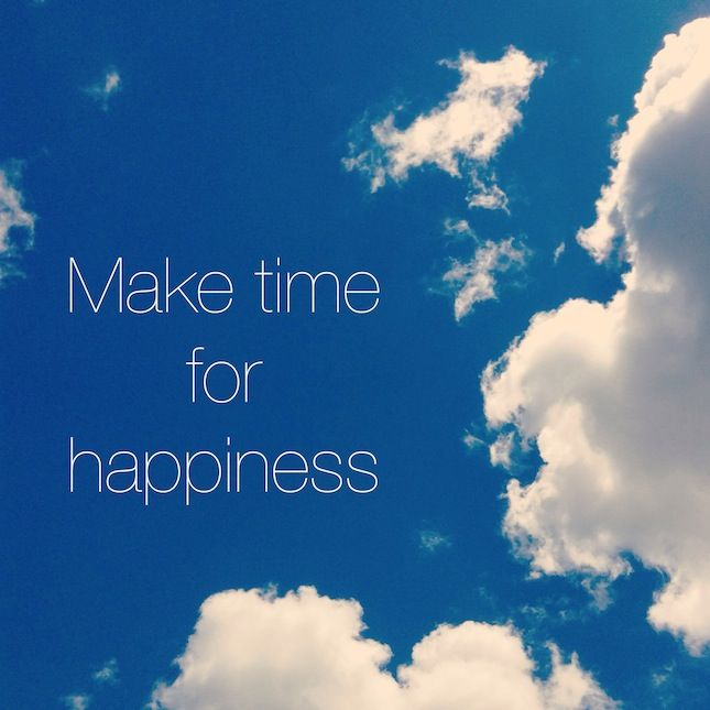 The New Year Project: Making More Time for Happiness