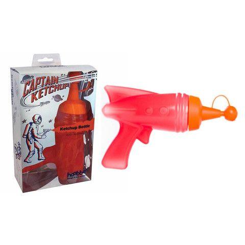 Captain Ketchup Sauce Bottle