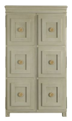 Tuxedo Armoire/Entertainment Center from the Suzanne Kasler® collection by Hickory Chair Furniture Co.