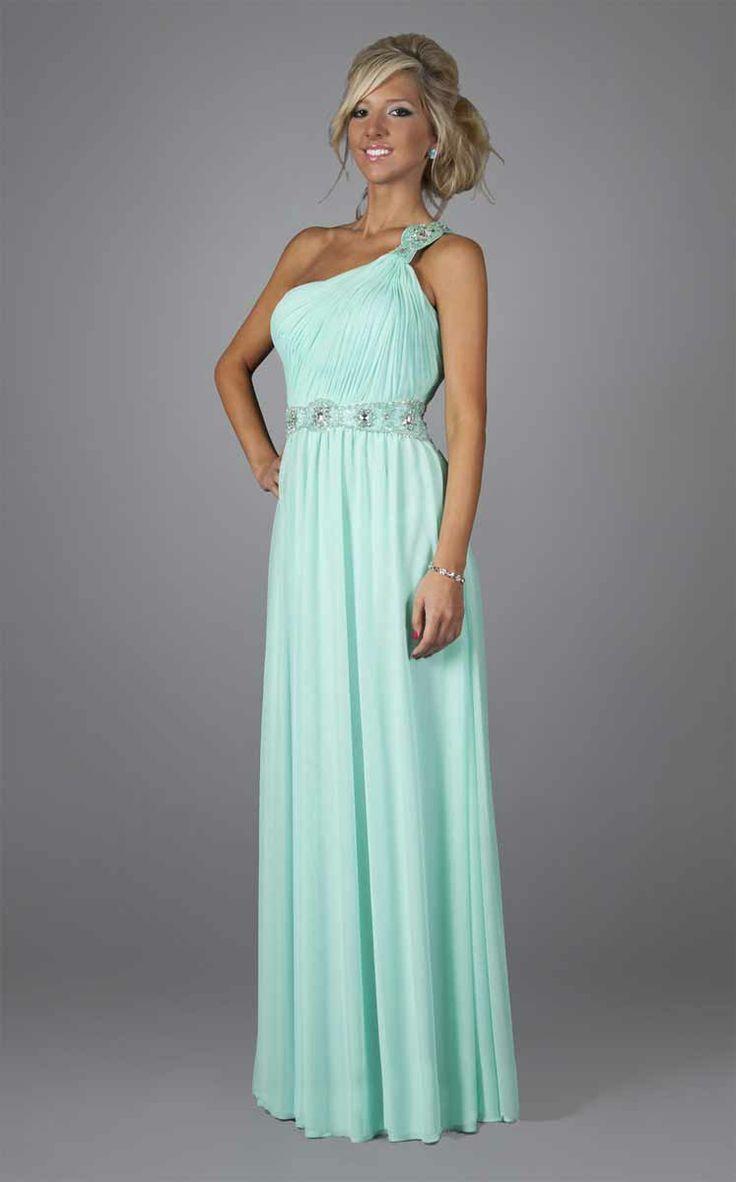 Seafoam Green Long Prom Dress_Prom Dresses_dressesss