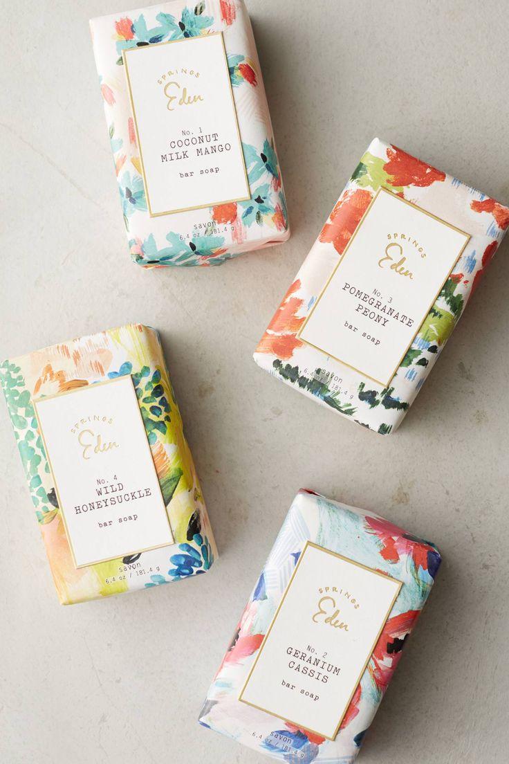 springs eden soap packaging | anthropologie