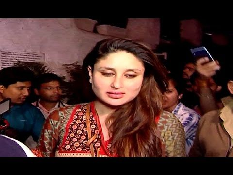 Kareena Kapoor Khan's first appearance after delivery of son Taimur.