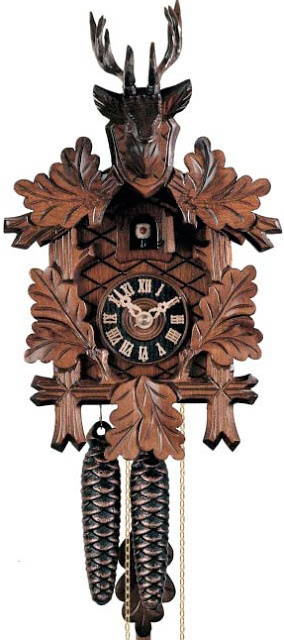 the Traditional Cuckoo Clock...read about this history of the clocks here