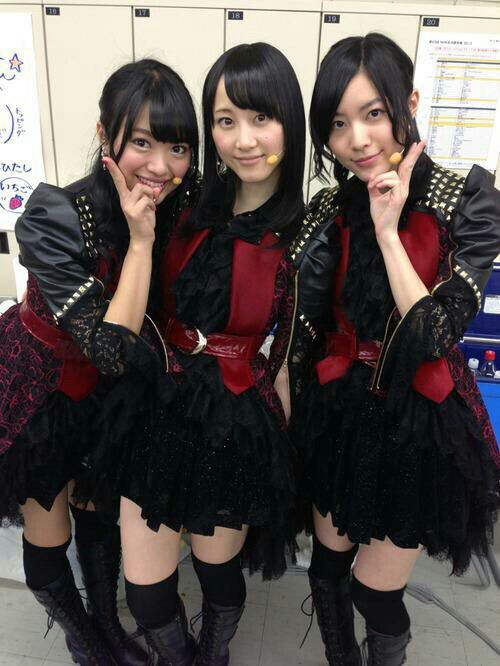 Matsui Jurina & Matsui Rena & Kitahara Rie