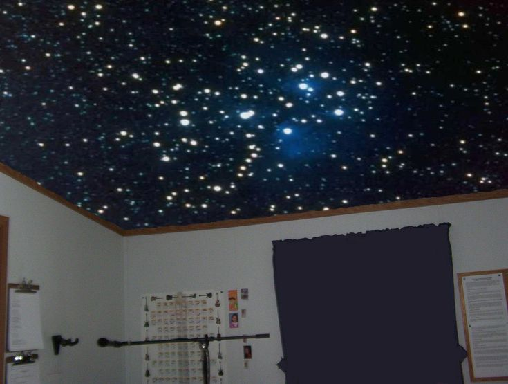Trying To Find A Way To Do This Cheaply For A Starry Night Effect In The Boys Room Special