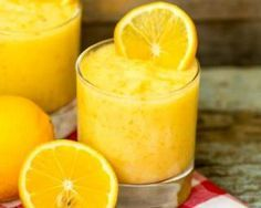 Smoothie brûle-graisses à l'orange et au citron                                                                                                                                                                                 Plus