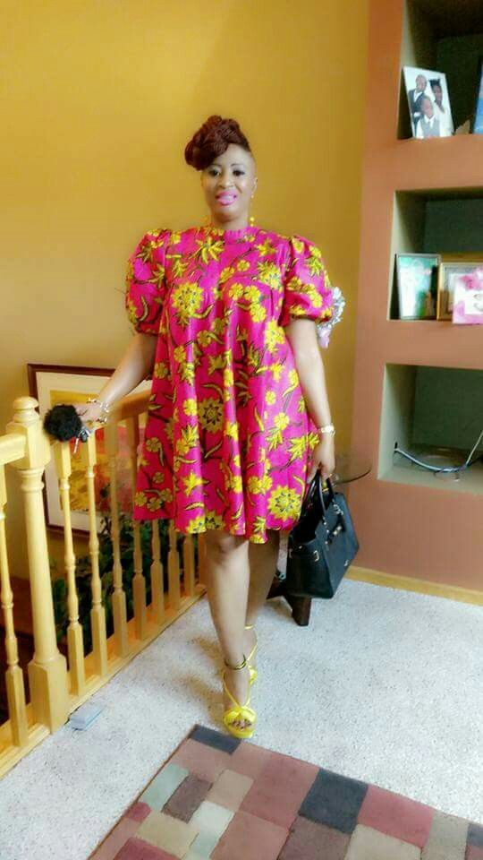 Beautiful Plus Size African Ankara Styles And Attire Plus Size
