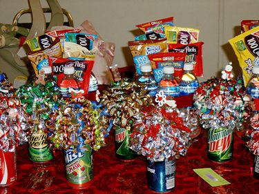 81 best gift baskets ideas images on pinterest gift ideas hand different take on gift basket for church kids bday negle Gallery