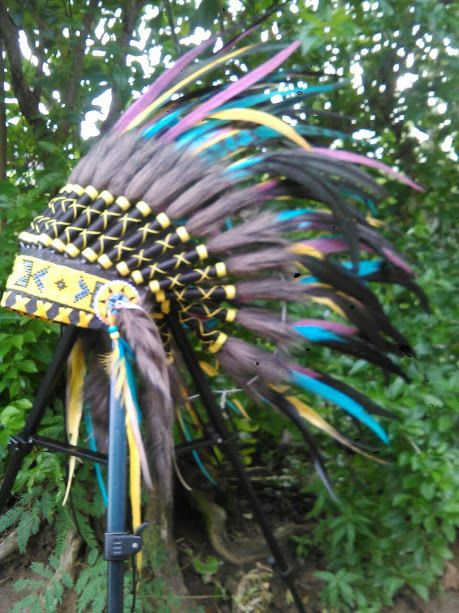 For kid/children Native American Headdress by TheLandOfCockaigne