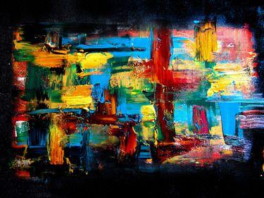 "Saatchi Online Artist jop thuillier; Painting, ""Titled1"" #art"