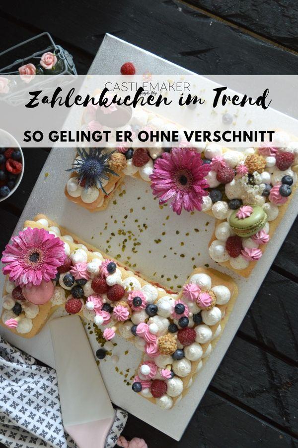 Number Cake Letter Cake Zahlenkuchen So Einfach Geht Der