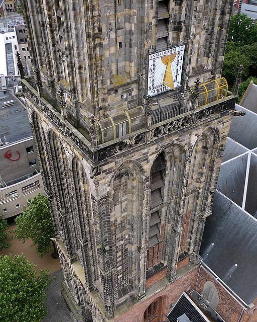 Martinitoren Groningen. Een prachtige close up.