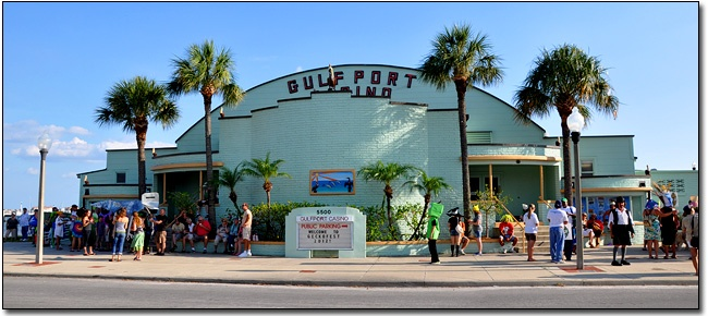 Gulfport Casino during Geckofest.