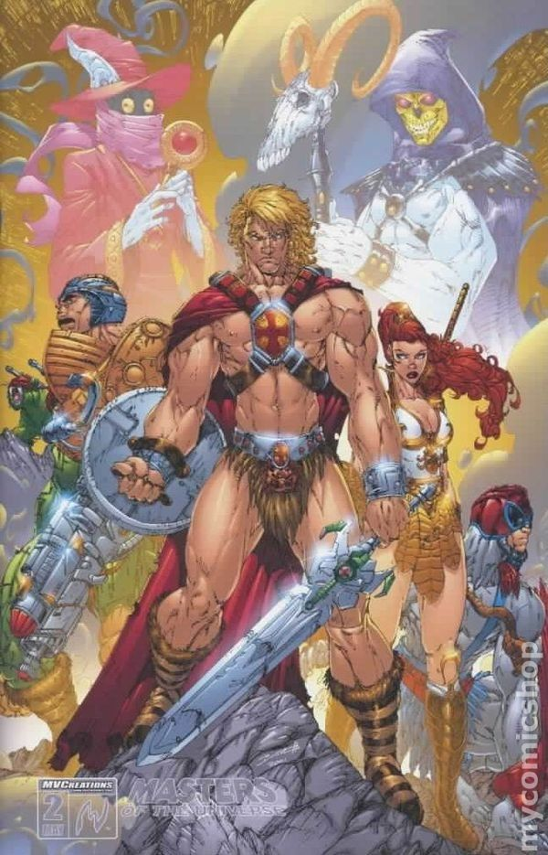 "He-Man and the Masters of the Universe.....""I've got the powerrr !""   Lol...Vic s saying"