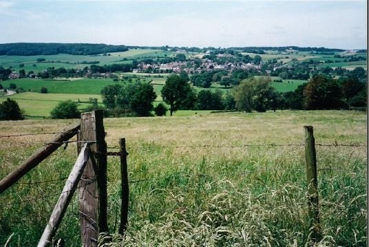 countryside of Belgium - biking through it contemplating retiring here before i even have a career
