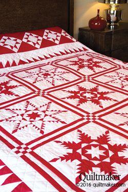 Scarlet Sparkle Quilt Pattern                                                                                                                                                                                 More
