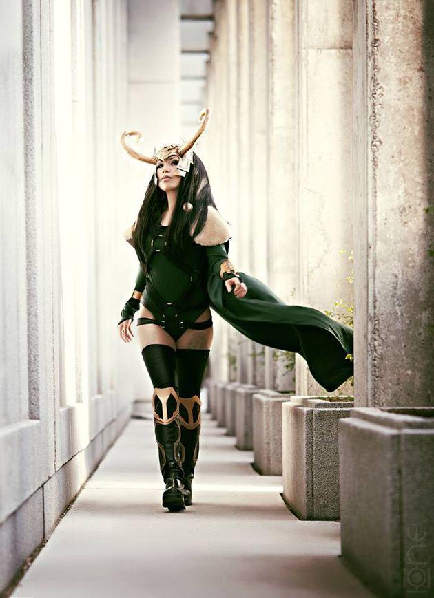 An incredible Loki cosplay. - 10 Lady Loki Cosplays
