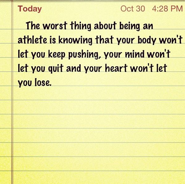 Athlete Problems