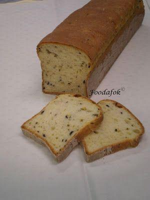 Póréhagymás-olívabogyós kenyér
