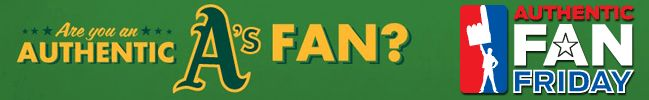 Are you an #AuthenticFan?! Sit with us in the O.co Value Deck every Friday home game and win free A's fan gear, Authentic A's Fan cheer cards, a personalized A's Fan baseball card at the CSN photobooth, a $6 food voucher, and a chance to be featured on a CSN live broadcast!   For more information: http://oakland.athletics.mlb.com/oak/ticketing/comcast_value_deck.jsp