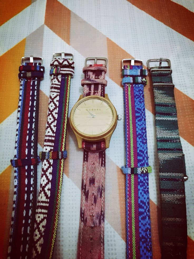Watch with tenun straps, Made in Indonesia | Lookbook | Pinterest ...