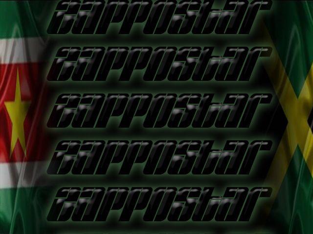 #Zappostar# #Reggae# #Reggaemusic# #Background# #Logo# #Suriname#