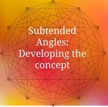 Circle Geometry - Subtended Angles (concept developement)