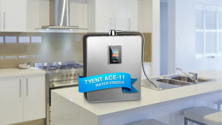 The new ACE-11 #waterionizer from Tyent.  http://www.tyentusa.com/water-ionizers/countertop-ionizers/ace-11.html