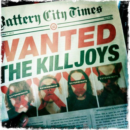 BATTERY CITY TIMES- Wanted: The Killjoys