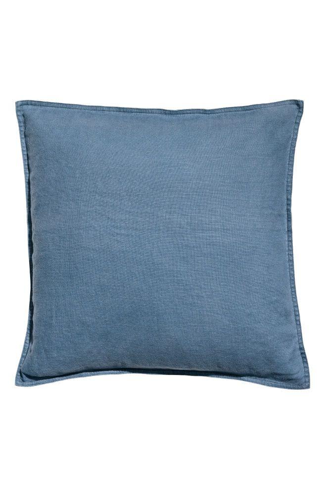 Washed Linen Cushion Cover With Images Linen Cushion Washed Linen Cushion Cover