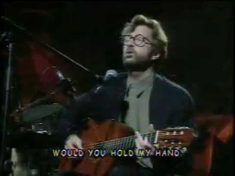 "Eric Clapton - ""Tears in Heaven"" Goodness... This song... The music flows so smooth, and the lyrics bring out a lot of emotion. Written for his 4 year old son who died in a home accident, Clapton really pushes a lot of my buttons... ""Would you know my name if I saw you in heaven? Would it be the same if I saw you in heaven?"""