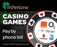 CLAIM LOYALTY REWARDS FROM PAY BY PHONE CASINO SITES .To get more information visit  http://paybyphonebillcasino.co.uk/ .