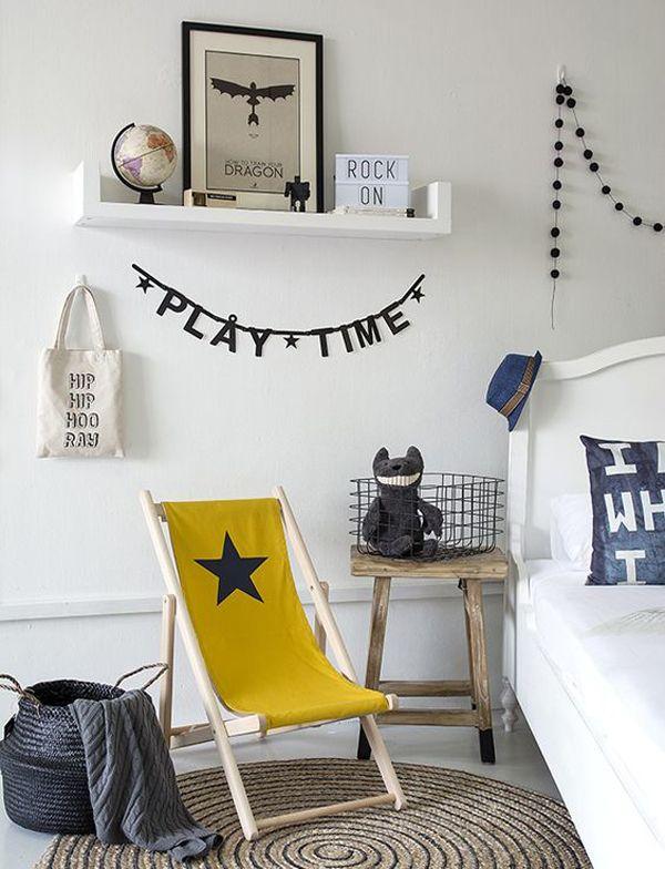 20 Habitaciones de niños para inspirarse | DecoPeques  #decoración #niños