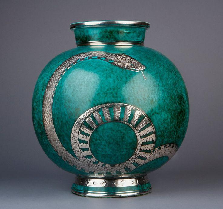 """""""Argenta"""" Vase by Wilhelm Kåge 10"""