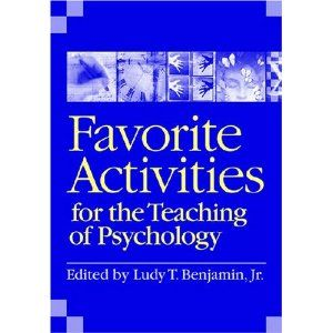 Teaching psych blog. For high school but has some great resources and book recommendations.