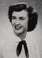 Elinor (Awan) Ostrom - 2009 winner of the Nobel Prize in Economics, in her 1951 yearbook photo at Beverly Hills high school in Beverly Hills, California. She is the only woman to ever win a Nobel in Economics.  #1951 #economics #Nobel #ElinorOstrom #yearbook
