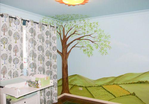 Bespoke Nursery Design and Painting, Children's Rooms, Feature Walls, Murals