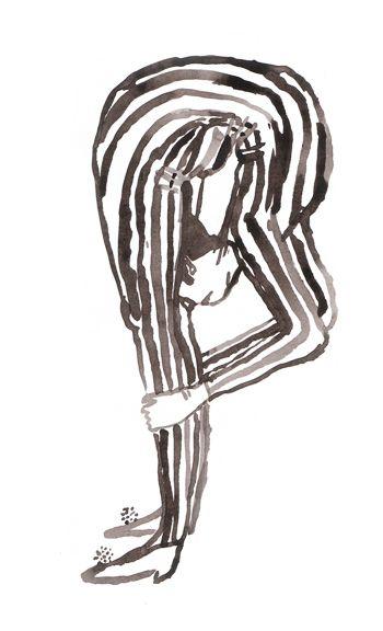 Pia Bramley / Illustration 03. Via Sara Barnes, Brown Paper Bag.