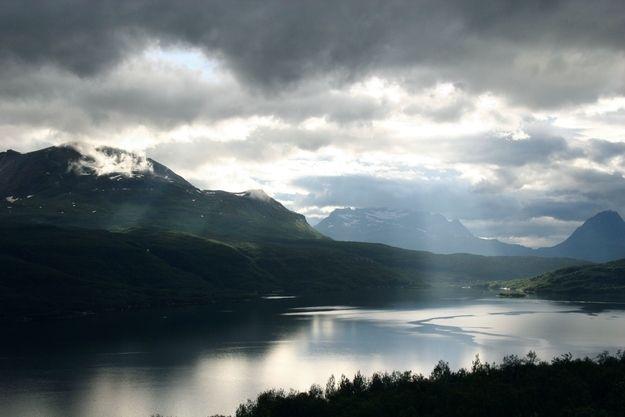 Salangen Fjord, Norway