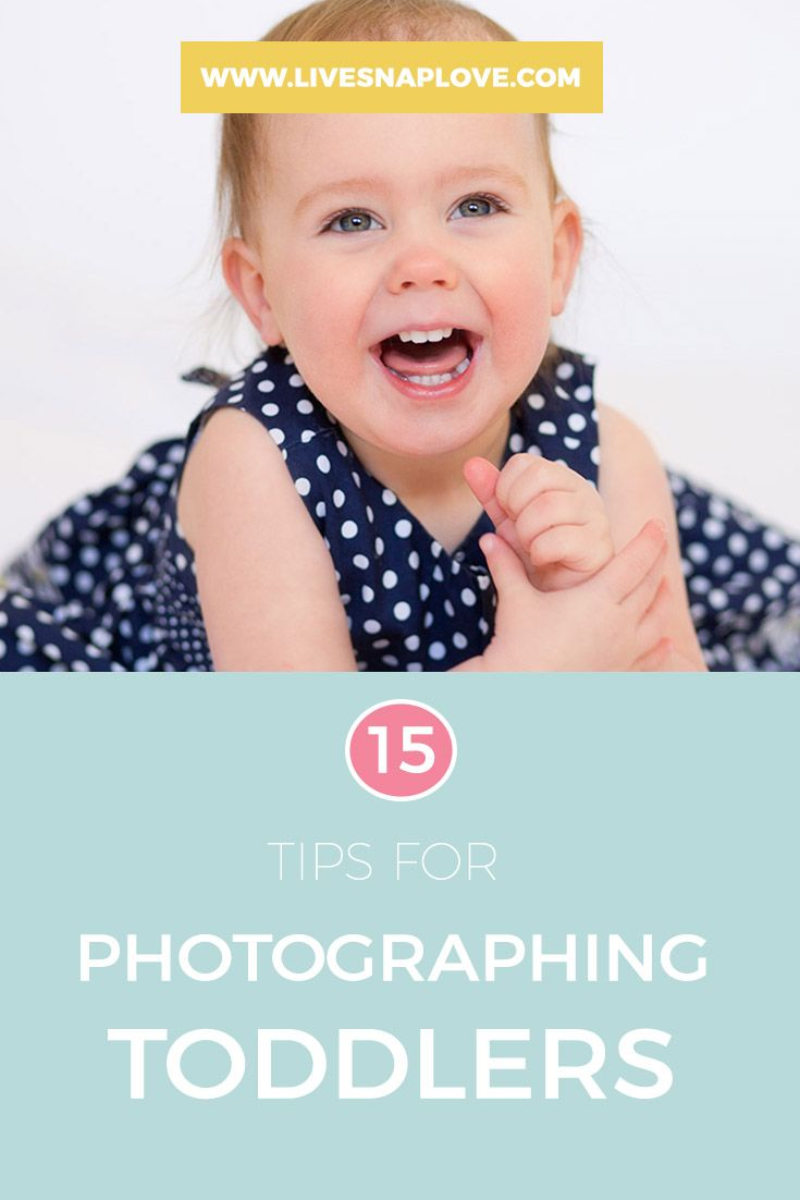 Tips for Photographing Toddlers | Child Photography Tips
